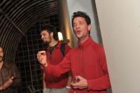 Slavnostní zahájení Folkových prázdnin v prostorách náměšťského zámku